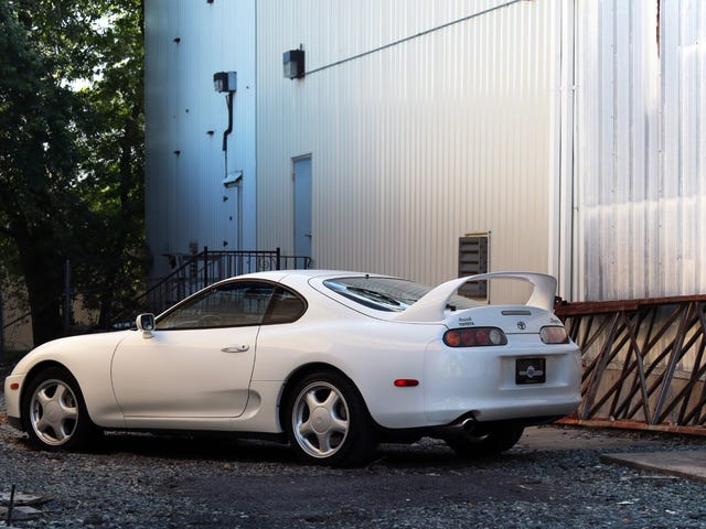 $80K BaT Toyota Supra's new owner says they plan to destroy the original car with a Rauh Welt Begriff bodykit