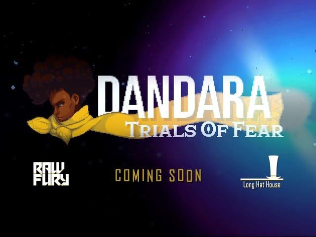 Trò chơi khám phá hành động 2D bất thường Dandara, trong đó người chơi của bạn có thể nhảy, nhưng không thể đi bộ qua một