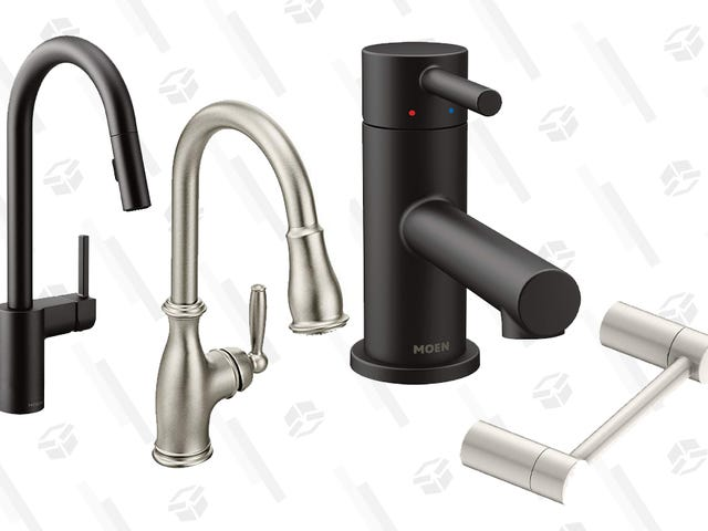 Update Your Kitchen With a Discounted Moen Faucet, Today Only