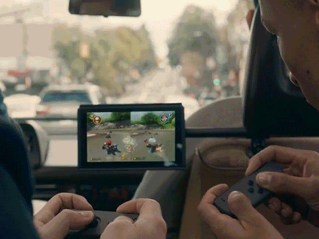 Commutateur Nintendo sera probablement pas cher, mais quelle est la capture?