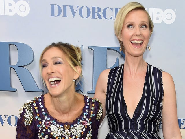 [Updated] Carrie Bradshaw Knows Cynthia Nixon* *(and Isn't Afraid to Ask...About Her Gubernatorial Run)