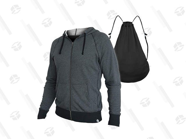 It's a Hoodie! It's a Backpack! It's Both For $38!