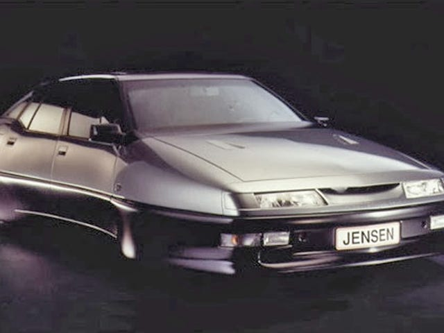 Personne ne voulait la voiture la plus futuriste et déroutante des années 1990