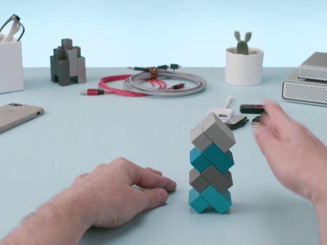 Fidget the Day Away With These Magnetic Blocks, Now 40% Off