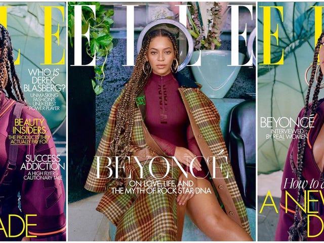 Beyoncé lancia nuove copertine di Elle e un Ivy Park Tease — e ora vogliamo anche unghie a strisce Adidas