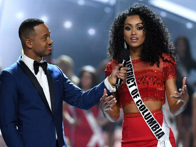 The 2017 Miss USA Is a Proud, Black HBCU Graduate, and She's Also Problematic as Hell