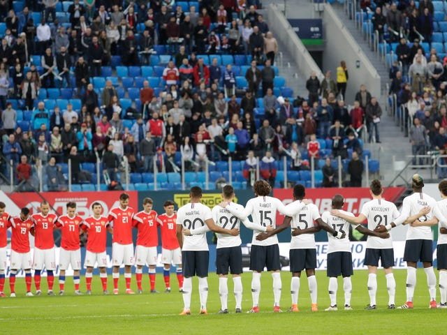 Russian Soccer Fans Reportedly Chanted Monkey Noises At Black French Players