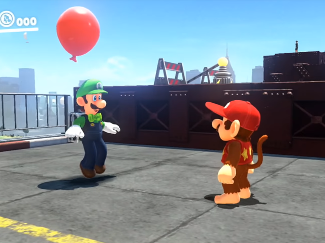 Luigi Will Comment On Your Super Mario Odyssey Outfits