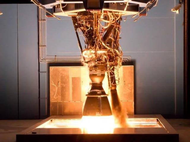 SpaceX lanza investigación después de que el cohete-motor explota durante las pruebas (actualizado)