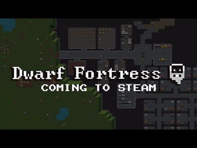 Smutny symulator karła alkoholowego Dwarf Fortress zbliża się do Steam