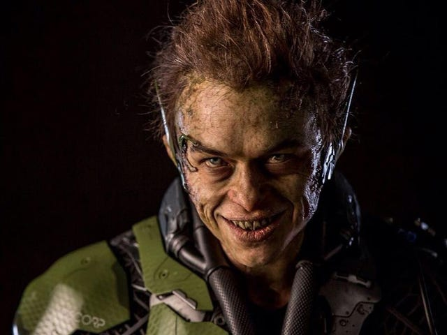 Super Gross Close-Up Of Spider-Man's New Green Goblin Is Super Gross