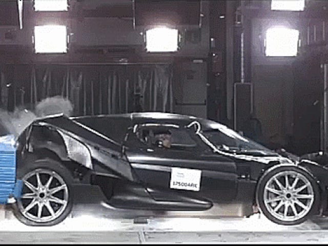Watch Koenigsegg Crash Test All Of Its Priceless Carbon Fiber Supercars