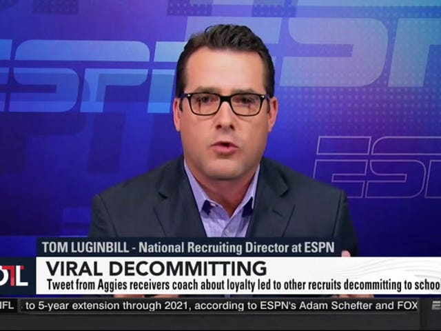 ESPN Nimrod Brays Som En Æsel Om Rekrutter Hvem Vil Ikke Spil For Dickheads