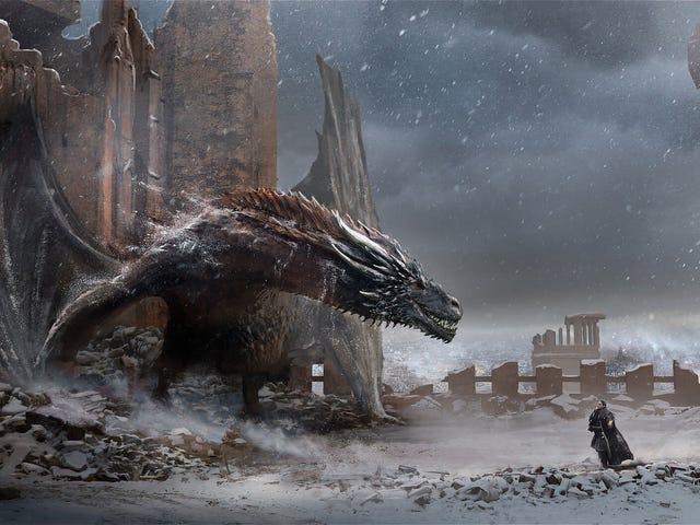 Game Of Thrones: The Final Season Arkasındaki Sanatın Bazıları Game Of Thrones: The Final Season