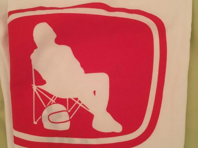 Excuse-moi pendant que je vais chercher une chaise de jardin