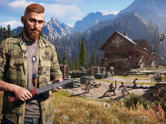 Far Cry 5 Players Want Knives
