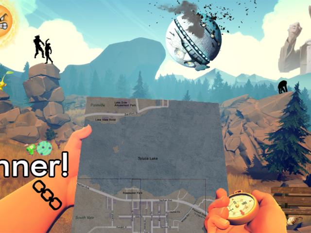 &#39;Concurso de Loja: Cuidado com os Vencedores da <i>Firewatch</i> !