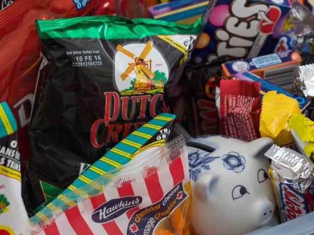 Tại sao giỏ cầm tay và túi tái sử dụng có thể khiến bạn mua thêm đồ ăn vặt