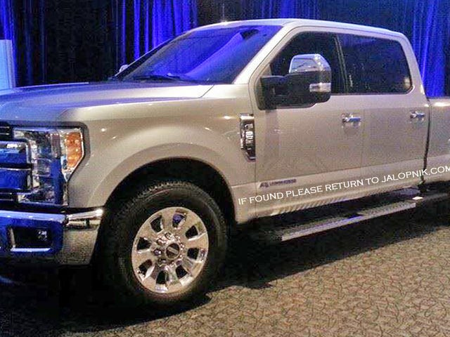 Ford F-250 Super Duty 2017: Here's The First Real Picture!
