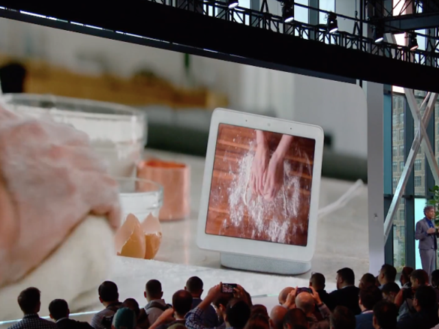 Google Has a Smart Display Now and It's Called Home Hub
