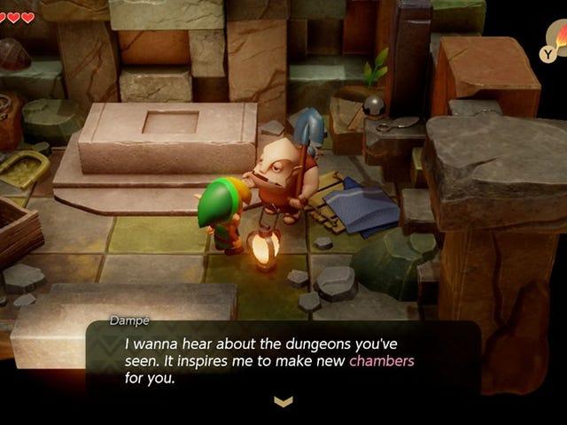 Zelda: Las mazmorras de cámara de Link's Awakening son una gran decepción