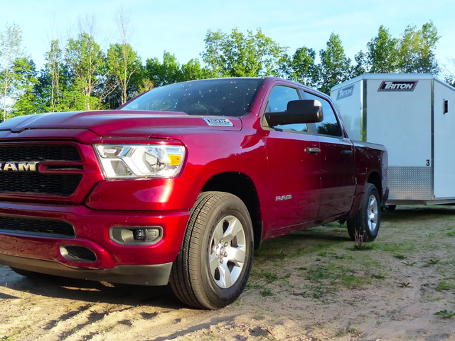 How The 2019 Ram 1500 Tradesman Becomes A $45,000 Work Truck And What It's Like To Drive