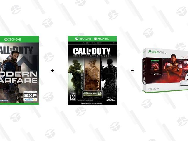 使用COD:MW,Legacy Trilogy和您选择的5种游戏构建自己的Xbox One S捆绑包