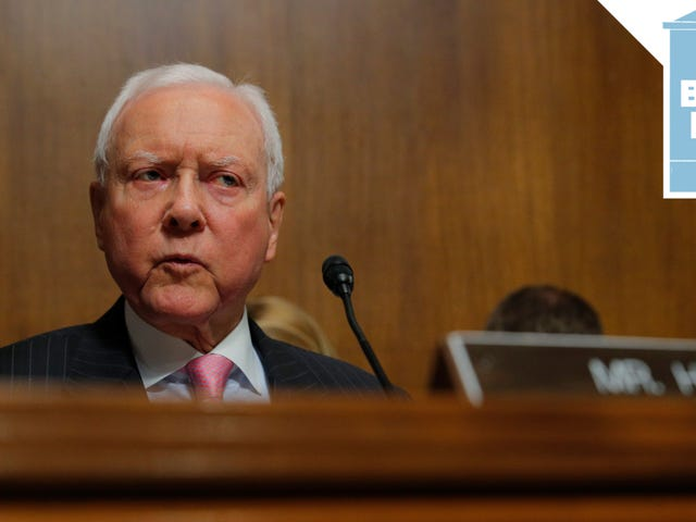 Orrin Hatch to Survivors of Sexual Assault: 'Grow Up'