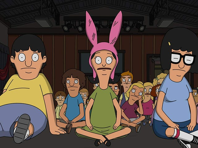 Louise fights for childhood and weird puppets on a touching Bob's Burgers