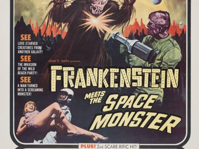 Frankenstein Meets the Space Monster/Curse of the Voodoo