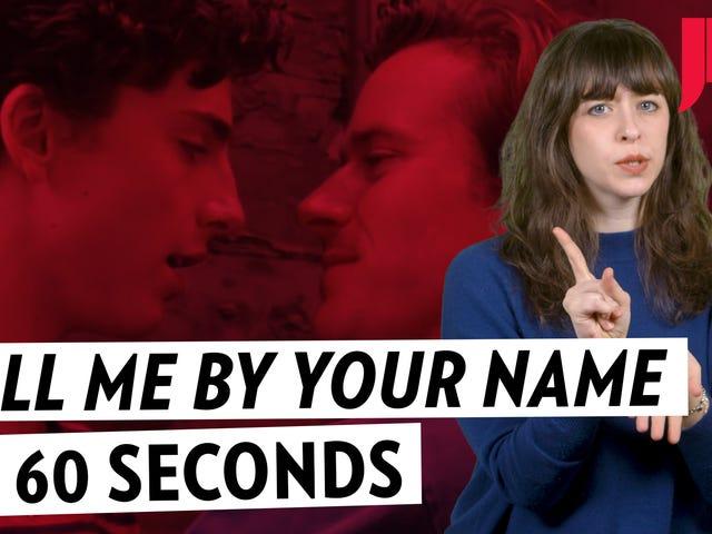 <i>Call Me By Your Name</i> w 60 sekund