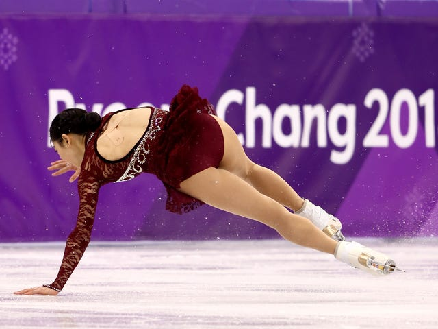 The U.S. Women Fall Apart In Figure Skating