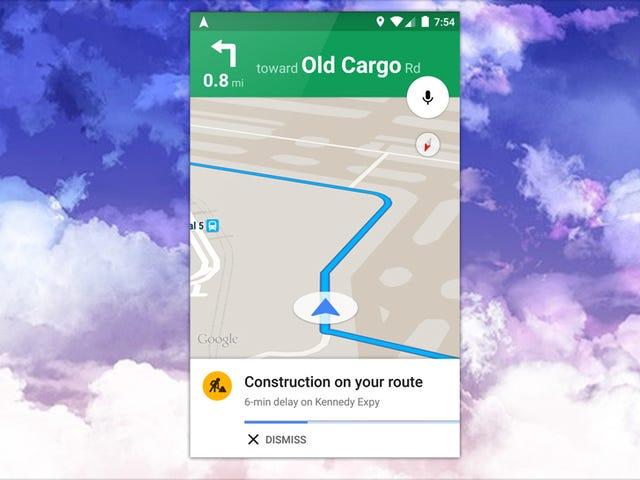 Peta Google Menambah Trafik Terperinci dan Pemberitahuan Kemalangan