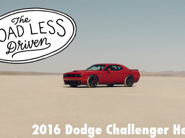 You Don't Drive A Hellcat, You Experience It.