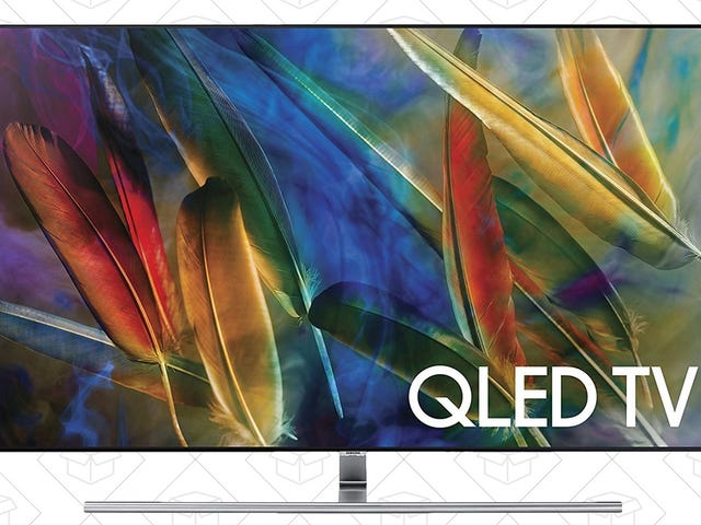 Amazon Just Knocked $200 Off Samsung's Quantum Dot-Powered 4K TV