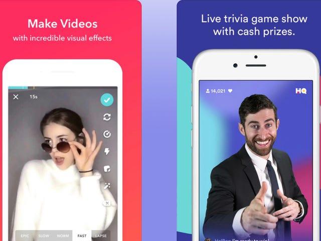 Teen App Musical.ly อาจพยายามปลดออกจากเรื่อง HQ Trivia