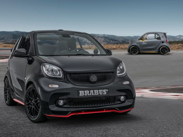 The Brabus 125R Is a Ballistic 125-HP Smart ForTwo Pocket Rocket