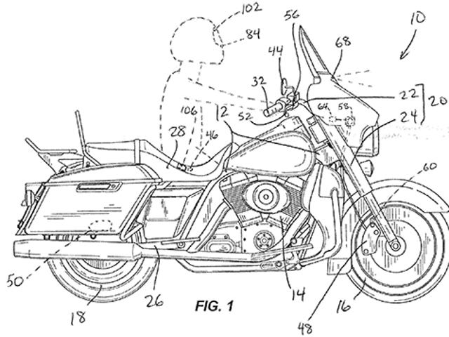 Harley Davidson Is Working On Automatic Emergency Braking Technology For Bikes