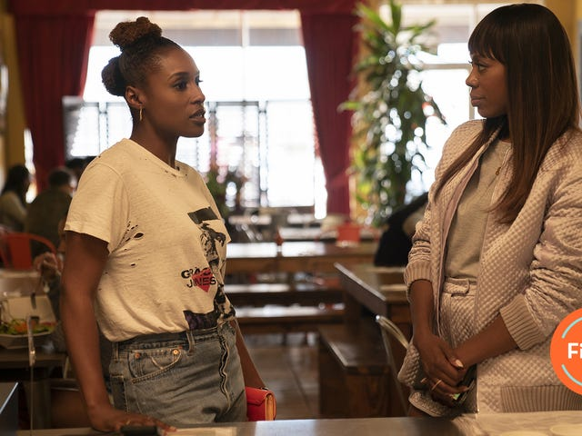 Molly and Issa visit the ghosts of exes past inan amazing season finale
