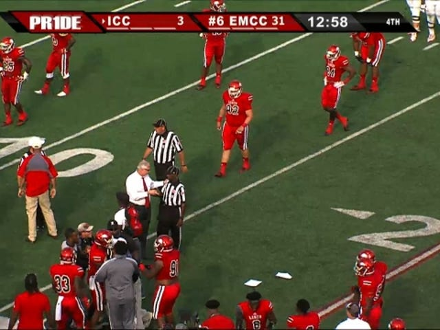 Referee Ejected From Game For Allegedly Trying To Punch Head Coach