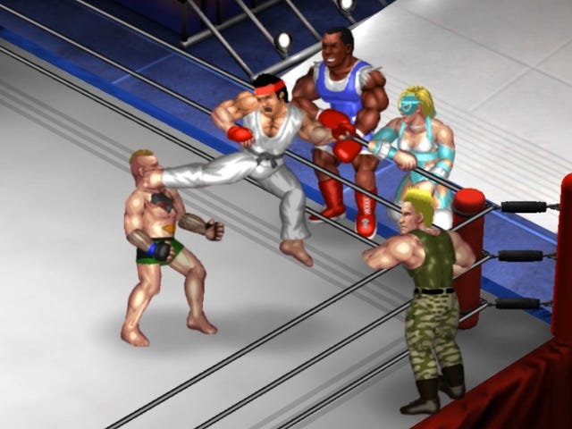 A Very Realistic Video Game Simulation Of Mayweather vs McGregor