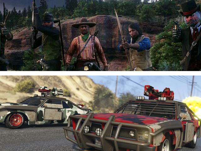 <i>Red Dead Online</i> ja <i>GTA Online's</i> Battle Royale -tilat eivät ole suuria