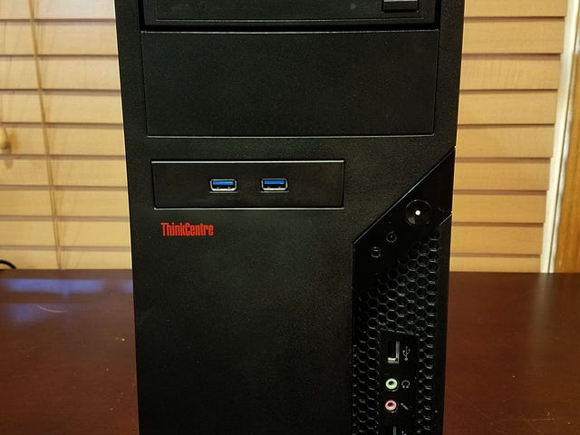 IBM/Lenovo ThinkCentre Ryzen 7 Sleeper Build