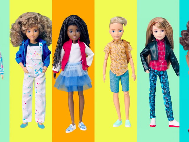 Mattel's New Gender-Neutral Dolls Are for Everyone
