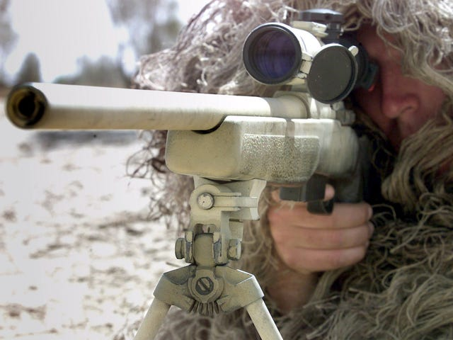 Canadian Sniper Kills ISIS Target From A Record Two Miles Away