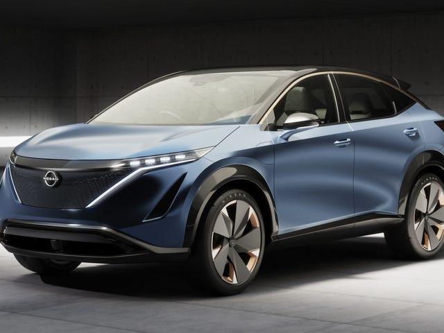 El concepto Nissan Ariya parece casi lo suficientemente soso para entrar en producción