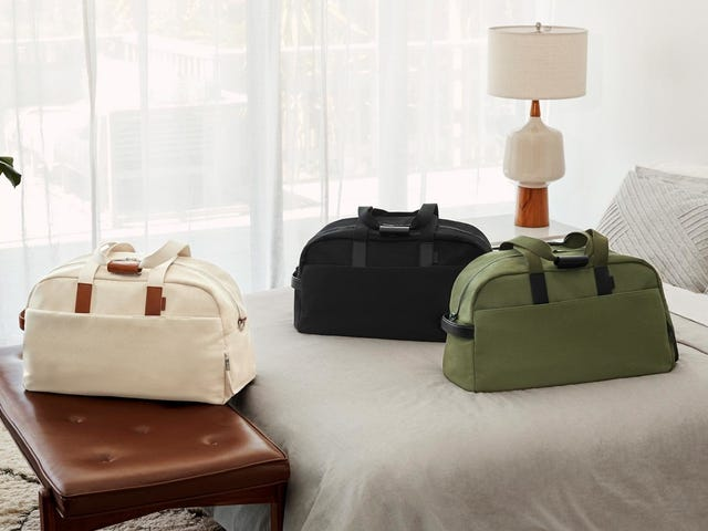 The Wheels Come Off With Away's New Weekender Duffle