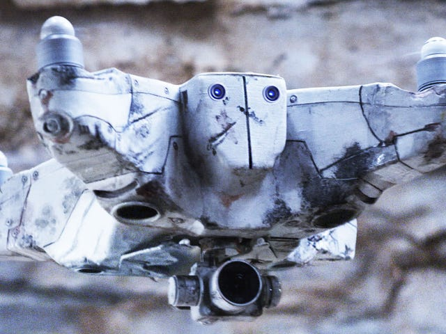 A Self-Aware Drone w jakiś sposób nie wywołuje natychmiastowej apokalipsy robotów w tym skrócie Scifi