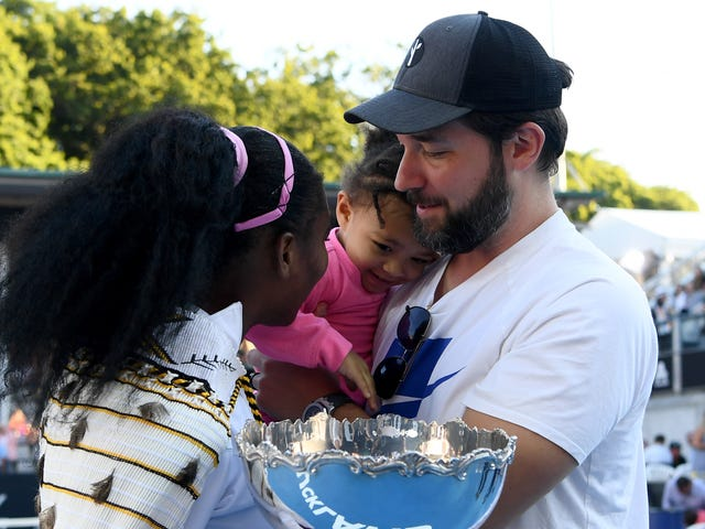 No, Serena Williams Didn't Convince Alexis Ohanian to Leave Reddit—but Daughter Alexis Olympia Helped