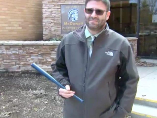 Pennsylvania School District Arms Teachers With Dinky Baseball Bats